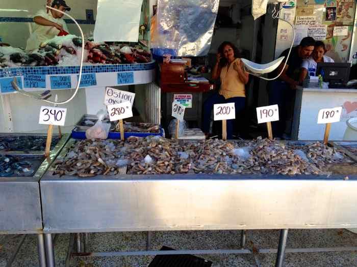Puerto Vallarta Fish Market