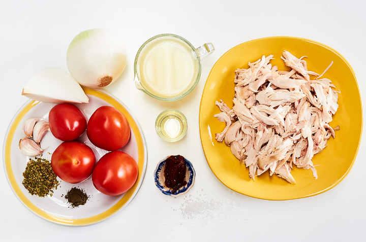 Chicken Tinga Ingredients