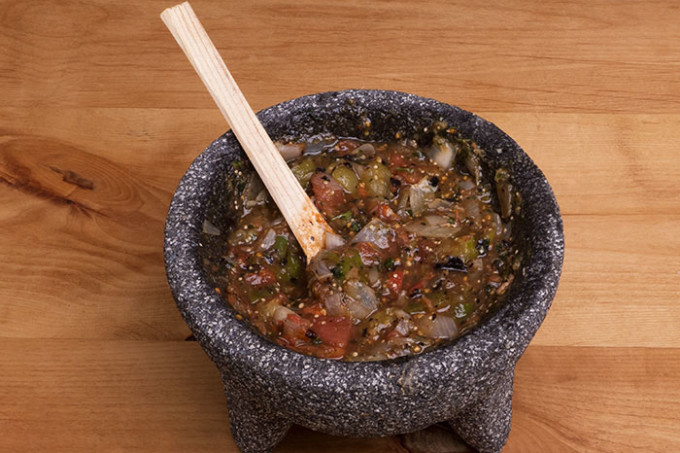 How to Use a Molcajete
