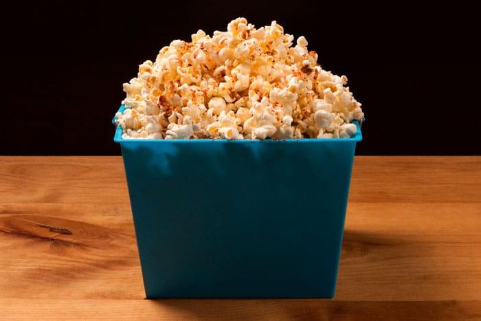 Chili Spiced Popcorn