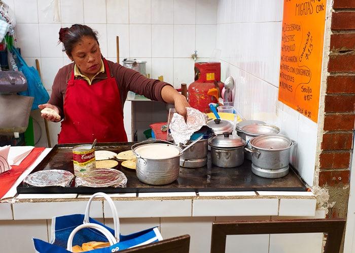 Food Stall at the Mercado San Juan de Dios