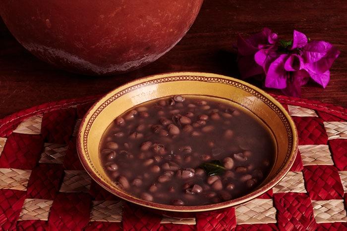 Bowl of Frijoles de la Olla