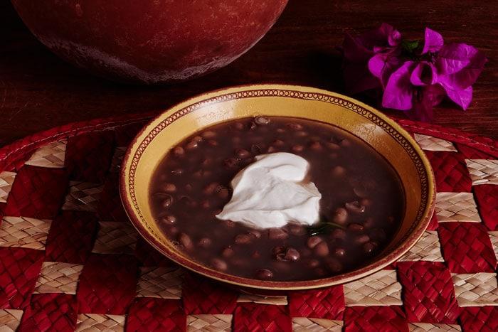 Frijoles de la Olla with Cream