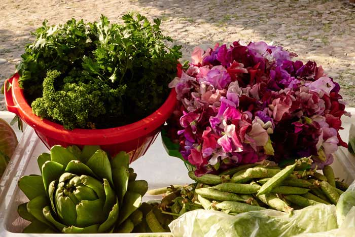 Organic Produce at the Market in San Miguel de Allende