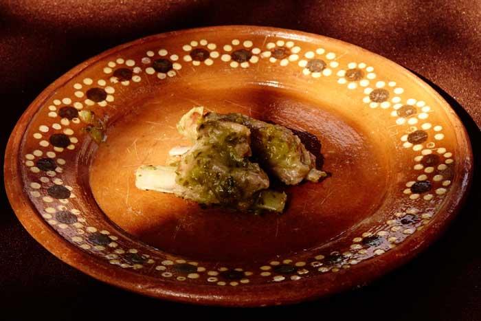 Lamb Ribs in Salsa Verde