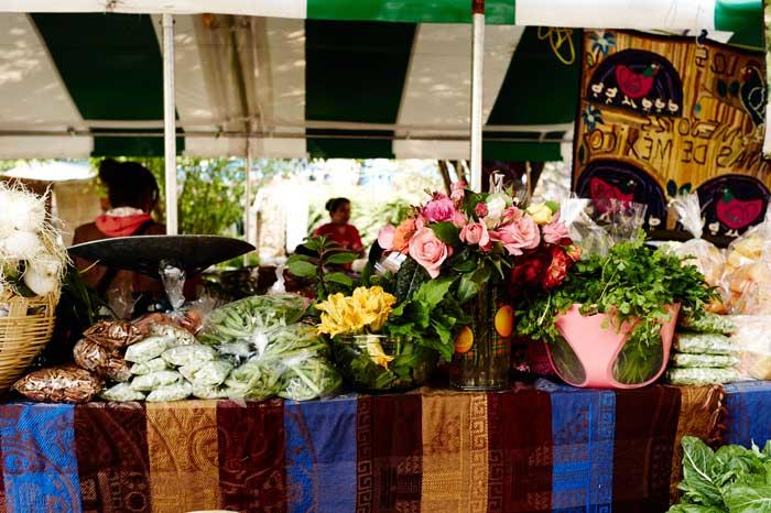 Organic Produce at the Farmer's Market