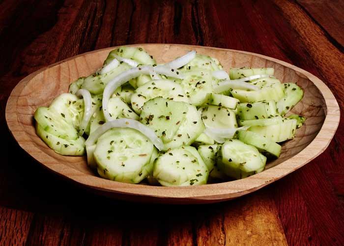 Cuernavaca Style (Mexican) Cucumber Salad