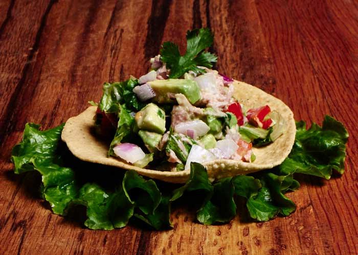 Mexican Spicy Tuna Salad with Avocado