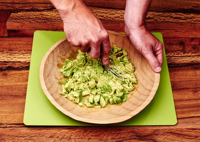 Making Guacamole, Step 2