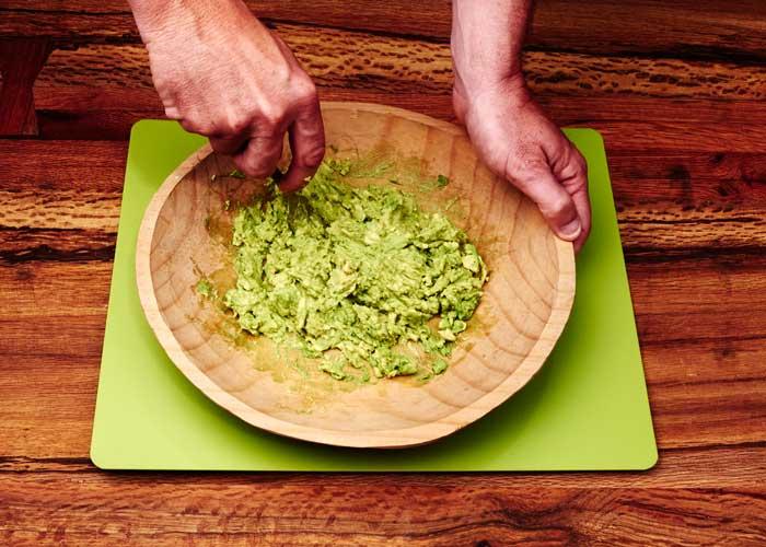 Making Guacamole, Step 3