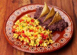 Huevo a la Mexicana
