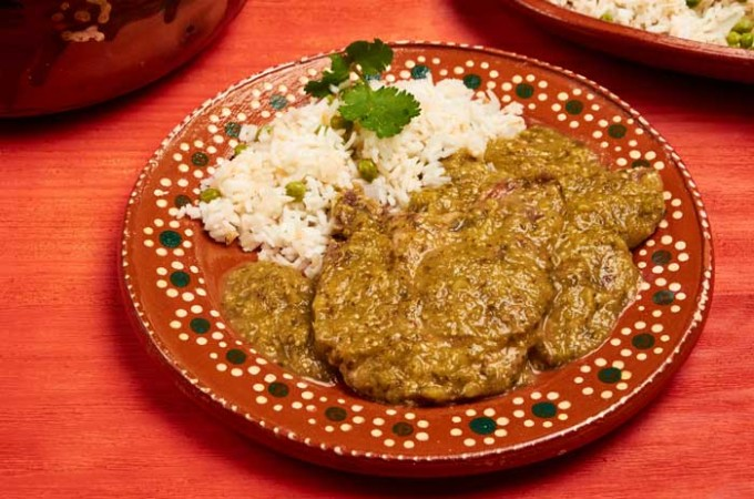 Pork Chops in Salsa Verde