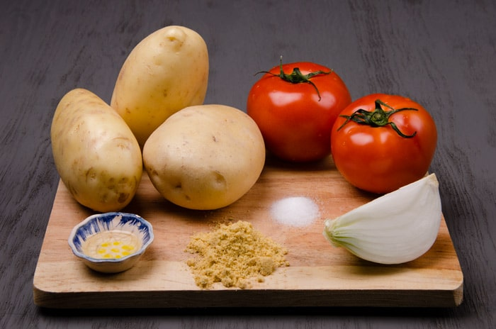 Ingredients Mexican Potato Soup