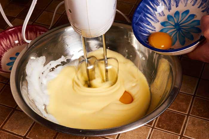 Adding Yolks to Egg Whites