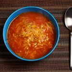 Mexican Style Carrot and Zucchini Soup