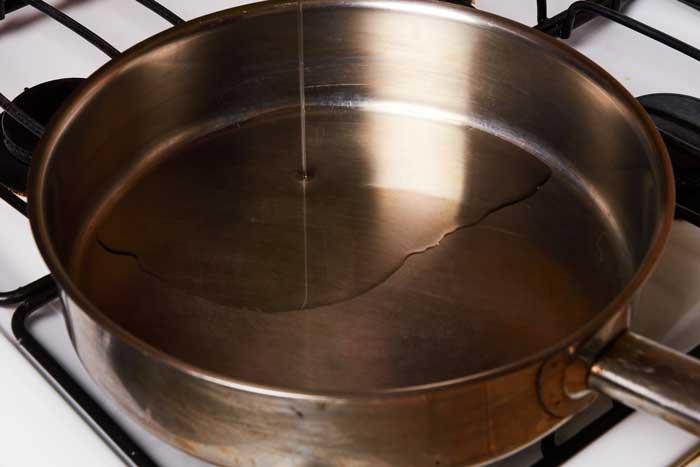 Oil in Pan