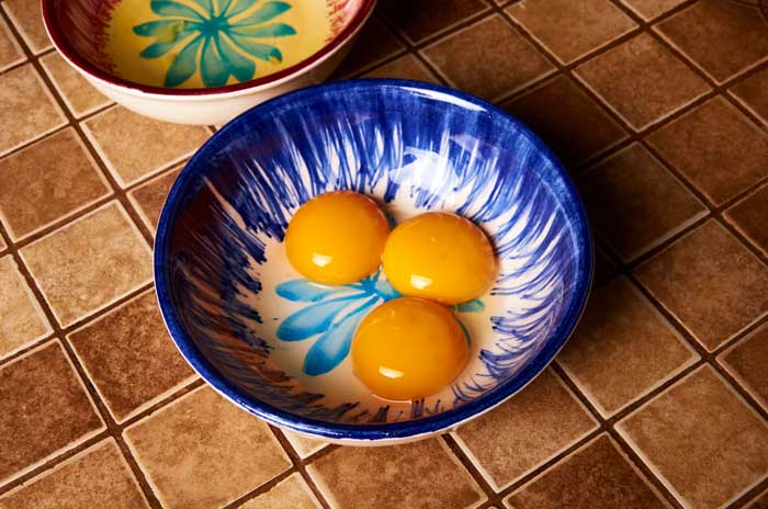Separated Egg Yolks