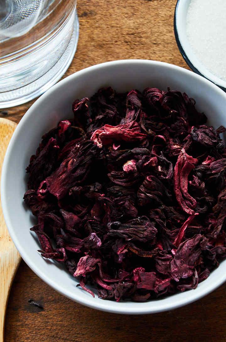 Agua De Jamaica Hibiscus Tea Step By Step