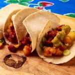 Potato Chorizo Tacos