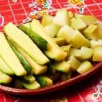 Chayote Zucchini Salad