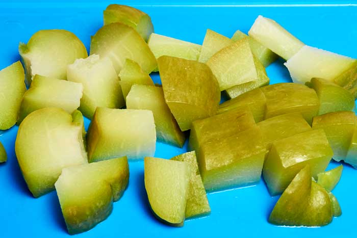 Chopped Chayote