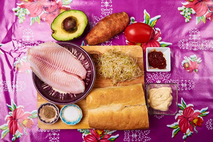 Fried Fish Sandwich Ingredients