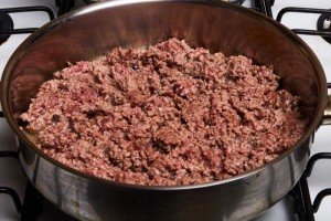 Lightly Browned Ground Beef