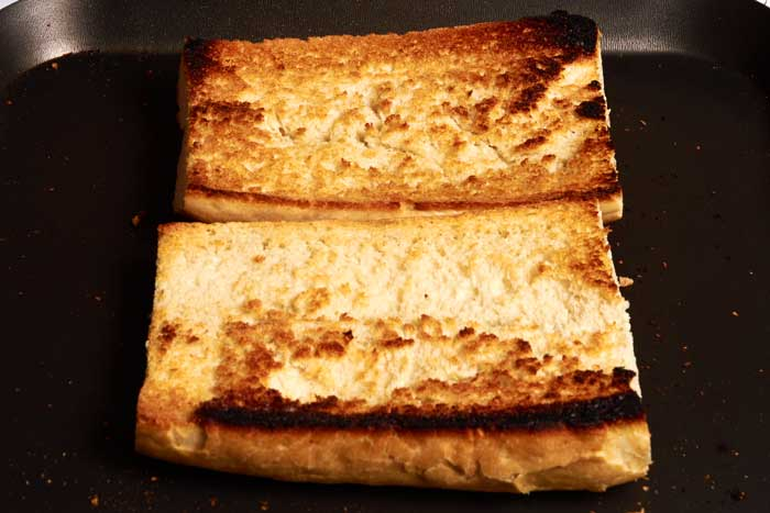 Pan Toasting Bread