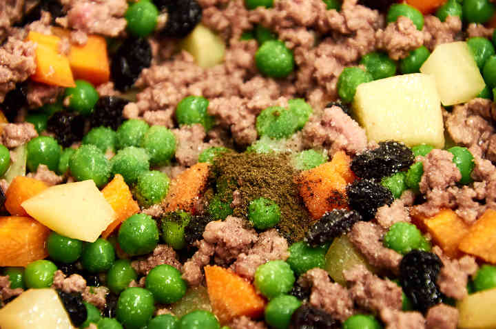 Seasoning Picadillo with Salt and Pepper