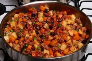 Stir in Tomato Sauce