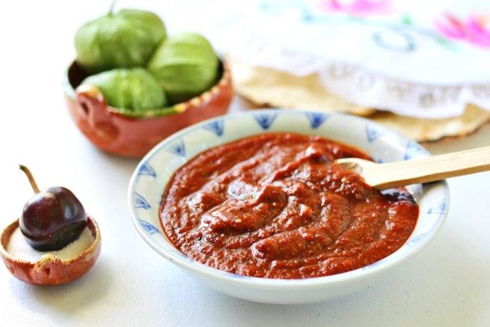 Chile Cascabel Salsa