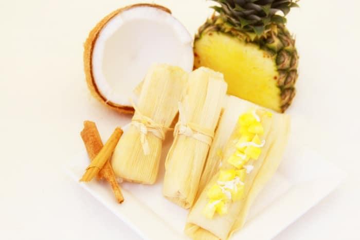 Azteca Gourmet - Piña Colada Tamales