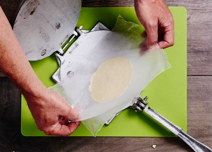 How to Use a Tortilla Press 6