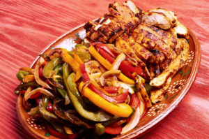 Authentic Chicken Fajitas