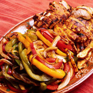 Chicken Fajitas in Adobo