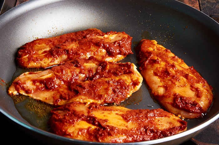 Cooking Chicken Breast in Adobo