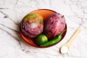 Raw Mango Salsa Ingredients