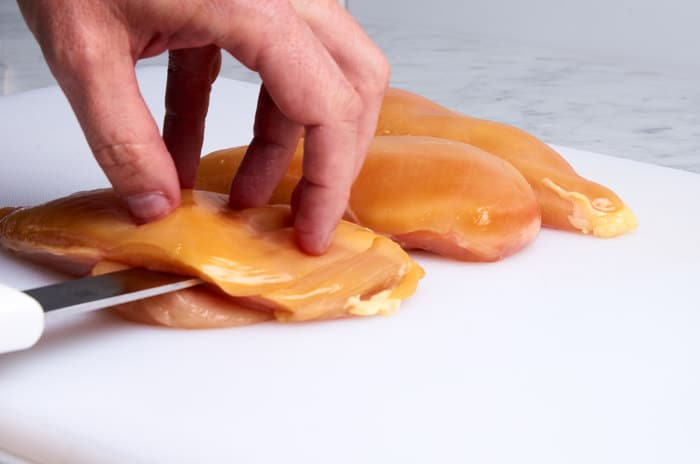 Slicing Chicken Breasts