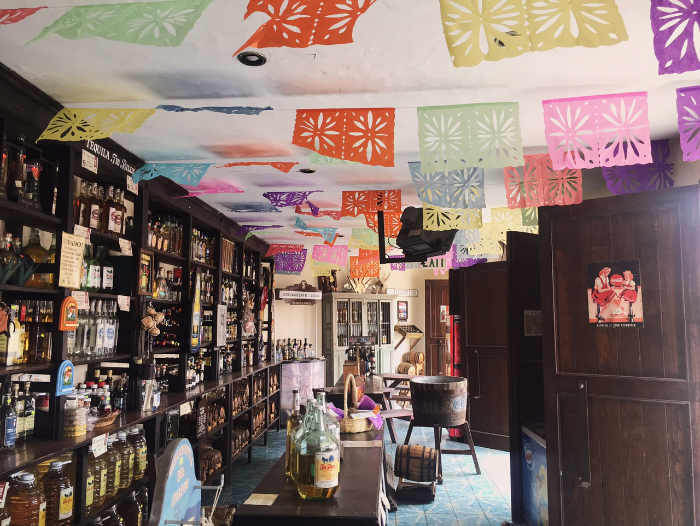 Specialty tequila shop in Tequila Jalisco
