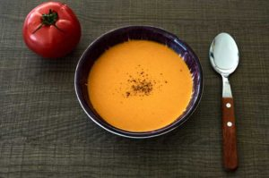 Mexican Cream of Tomato Soup
