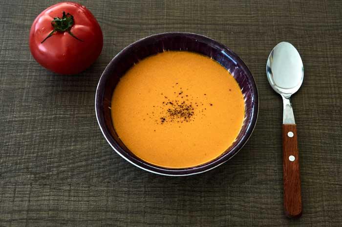 Mexican Cream of Tomato Soup