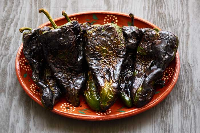 Roasted Poblano Chiles