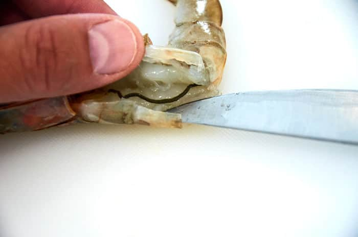 How to Devein Shrimp