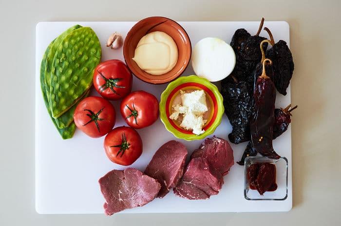Ingredients Beef Tenderloin with 3 Chile Salsa