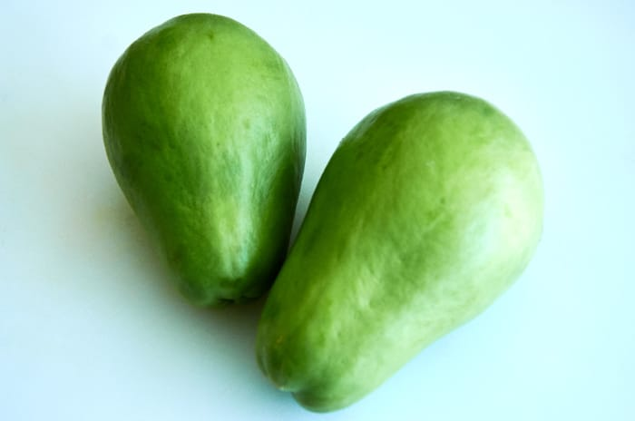 Stewed Chayote In White Wine