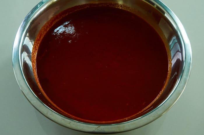 Strained Three Chile Sauce