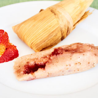 Vegan Strawberry Tamales
