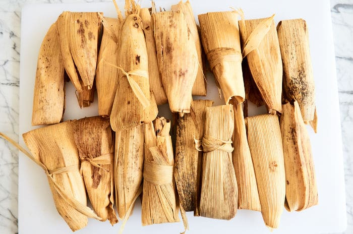 Wrapped Tamales