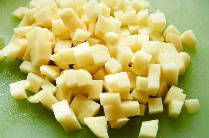 Diced White Potatoes