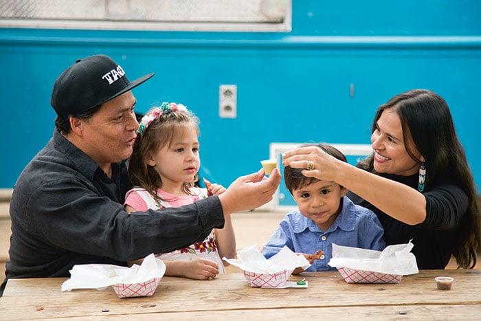 Mando Rayo and Family